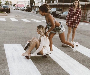 girls, smile, and friends image