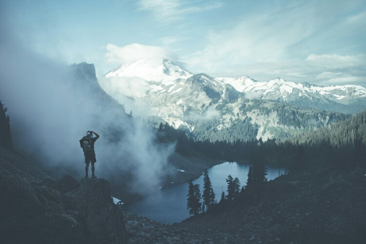 aesthetic, mountain, and alternative image