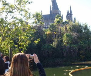 castle, harry potter, and universal image