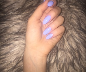 blue, fur, and nails image