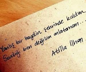turkce, sözler, and atilla ilhan image