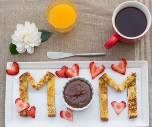 breakfast, food, and chocolate image