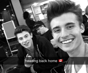 shawn mendes, chris collins, and boy image