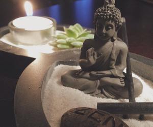 Buddha, peace, and love image