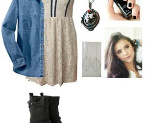 cute outfits and tvd polyvore image