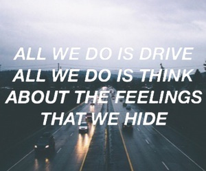 badlands, drive, and driving image