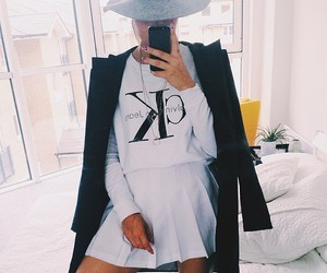 fashion, Calvin Klein, and coat image