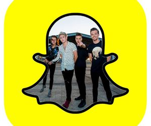 one direction, liam payne, and snapchat image