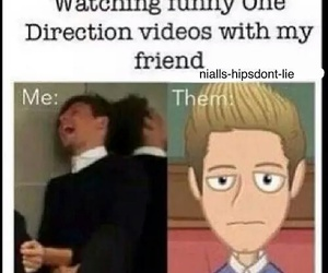 one direction, funny, and niall horan image