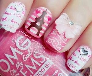 nails, beauty, and paris image