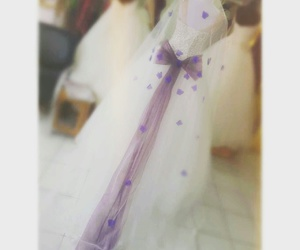 butterfly, wedding, and purple image