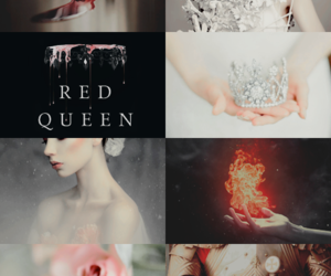 red queen, victoria aveyard, and books image