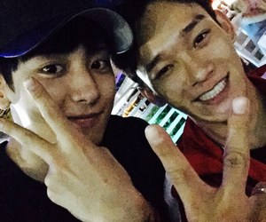 exo, chanyeol, and Chen image