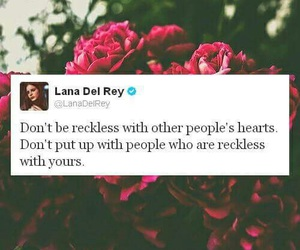 quote, lana del rey, and heart image