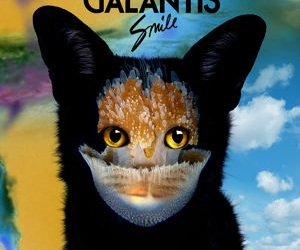 music, smile, and galantis image