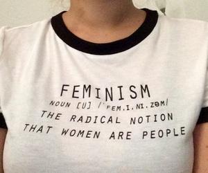 feminism, feminist, and t-shirt image