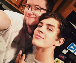 ricky dillion and hayes grier image