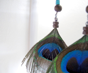 blue, green, and jewelry image