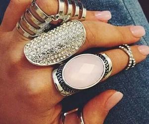 amazing, diamond, and nails image