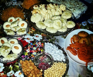 eid, preparations, and sweets image