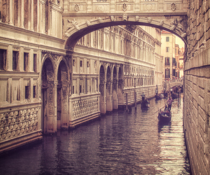 venice, city, and travel image