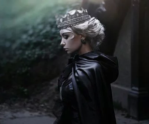 Queen, dark, and fantasy image