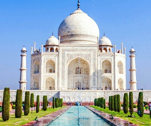 agra, india, and travel image