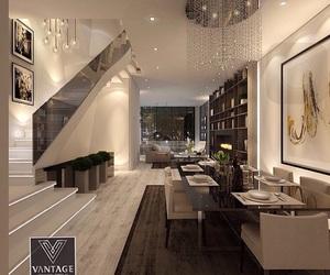 architecture, black and white, and decor image