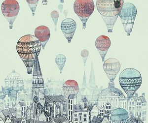 balloons, beautiful, and cute image