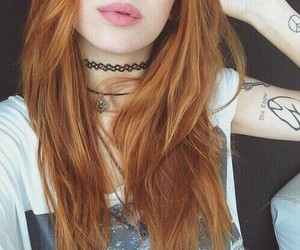 hair, piercing, and grunge image