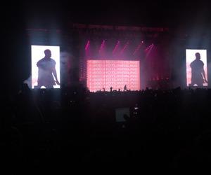 Drake and concert image
