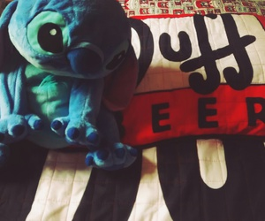 disney, stitch, and duffbeer image