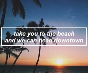 artistic, beach, and downtown image