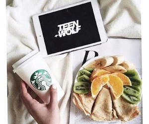 teen wolf, starbucks, and food image