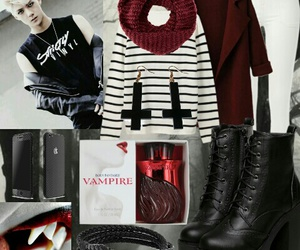 exo, goth, and kpop image