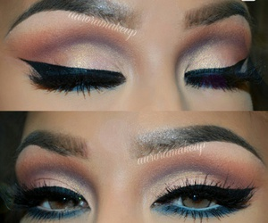 eyes, fashion, and look image