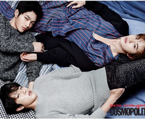 infinite, L, and sungyeol image