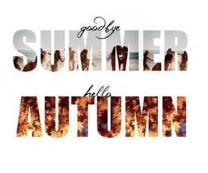 autumn, summer, and hello image