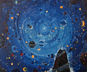 stars, art, and space image