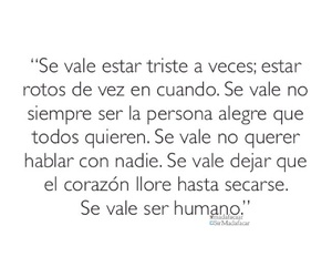 love, frases, and triste image