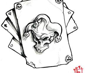 carte, crane, and joker image