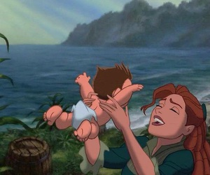 disney, jungle, and mother image