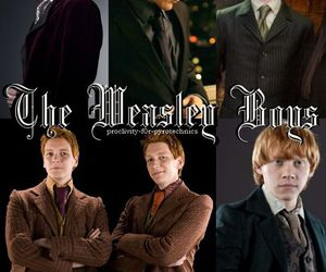 harry potter, ron weasley, and charlie image