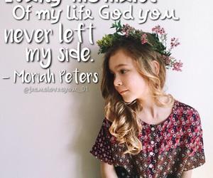 littlegirl, flowercrown, and christianmusic image