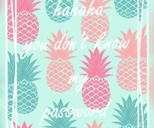 wallpaper and pineapples image