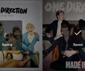 one direction, up all night, and made in the am image