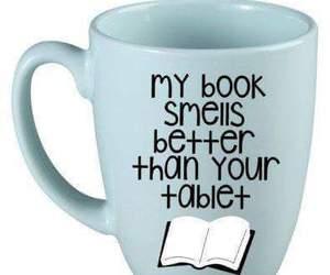 book, cup, and mug image