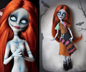 cool, creepy, and doll image