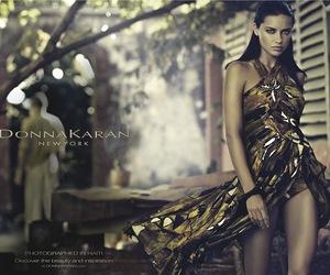 Adriana Lima, model, and donna karan image