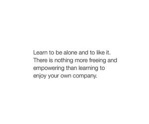alone, learn, and life image